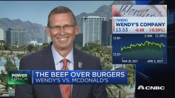 Wendy's CEO talks beef