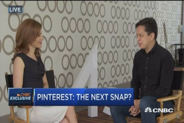 Pinterest CEO: No plans to go public