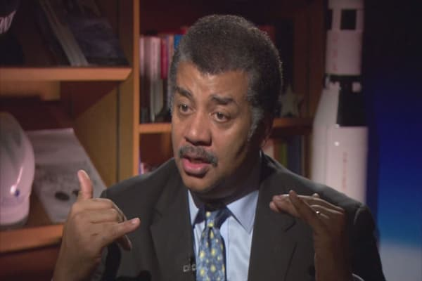 Neil deGrasse Tyson doesn't want to go to Mars just yet