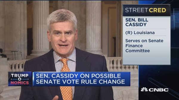 Sen. Cassidy on Senate vote rule change