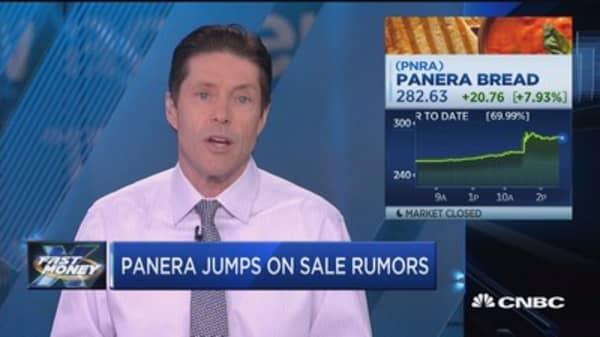 Panera jumps on sale rumors