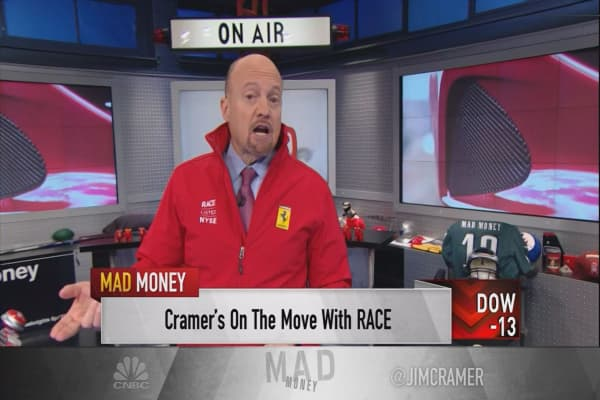 Cramer: Ferrari's stock is off to the races. Here's why I won't take the ride