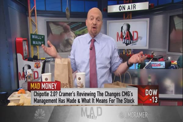 Cramer: Here's the age-old trend lifting Chipotle from its rut