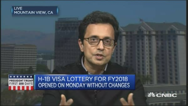H-1B visa: 'Separate political theater from reality'