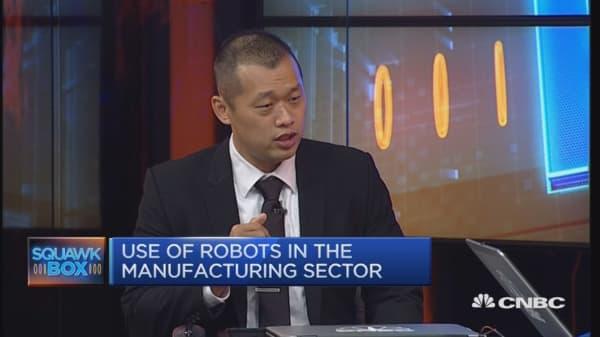 Robots and job creation