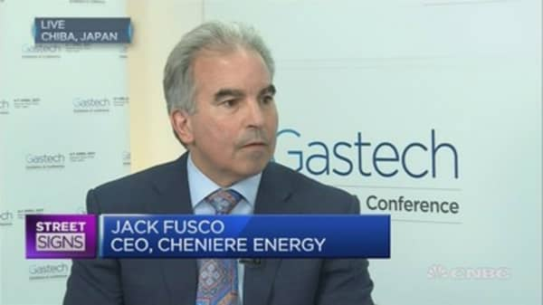 We're not seeing glut of LNG: Cheniere CEO