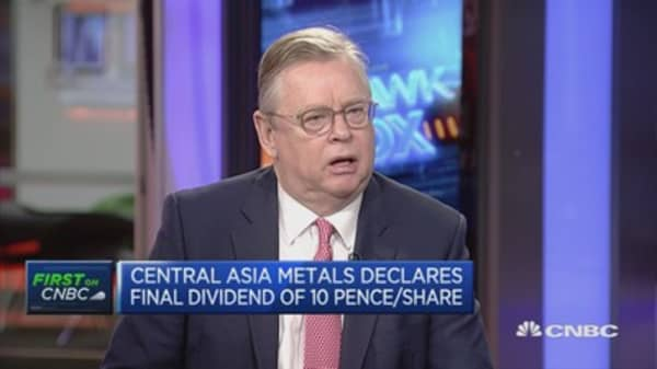 Central Asia Metals: Expect copper price to rise in 2017