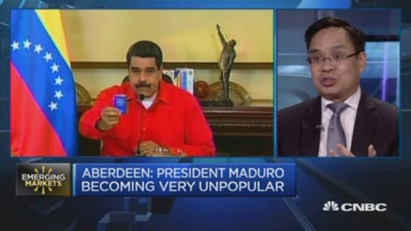 Aberdeen: Political uncertainty rising from Venezuela nationalizations