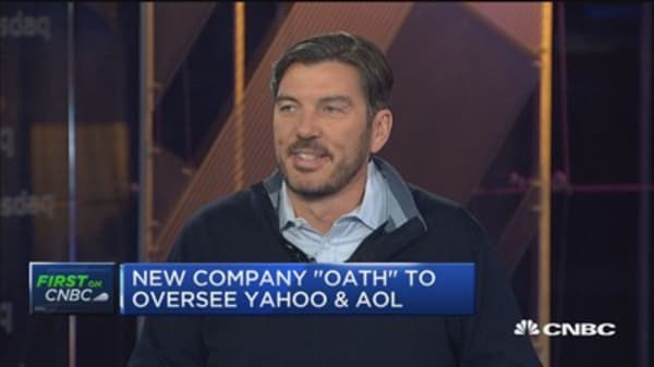'Oath' to oversee Yahoo and AOL brand: Tim Armstrong
