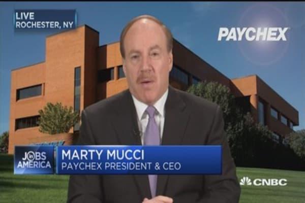 Small biz hiring  falls 0.05% in March: Paychex