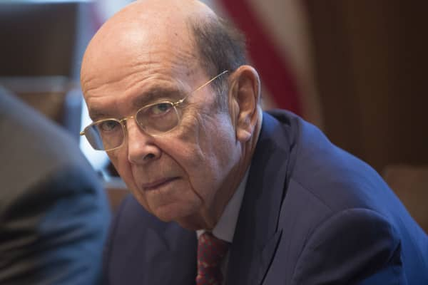 U.S. Secretary of Commerce Wilbur Ross.