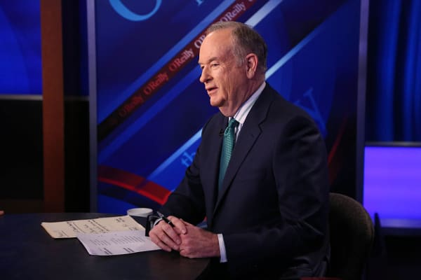 Bill O'Reilly on The O'Reilly Factor set