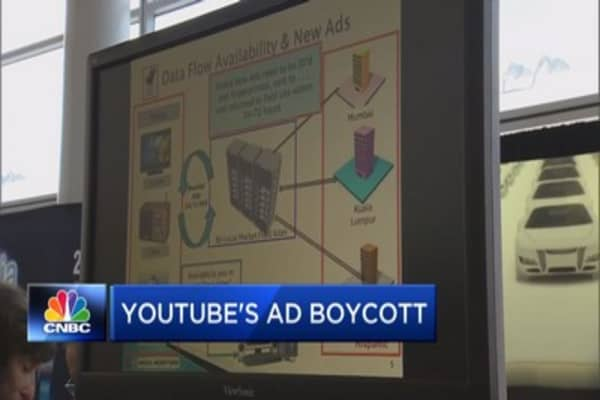 Ad giants talk YouTube boycott