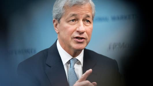 JPMorgan Chase Smashes Earnings Views, But Cuts Loan Forecast