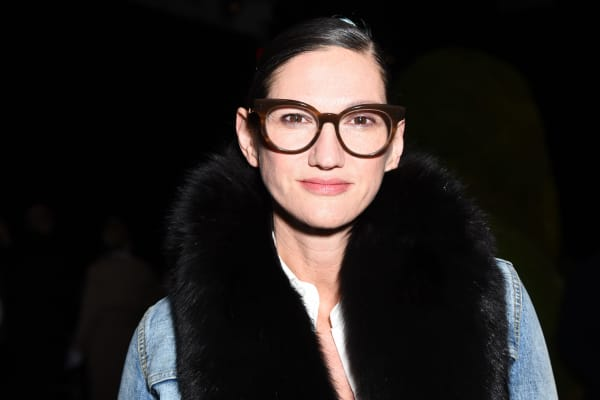 Jenna Lyons attends the Altuzarra Runway Show during New York Fashion Week at Spring Studios on February 12, 2017 in New York City.