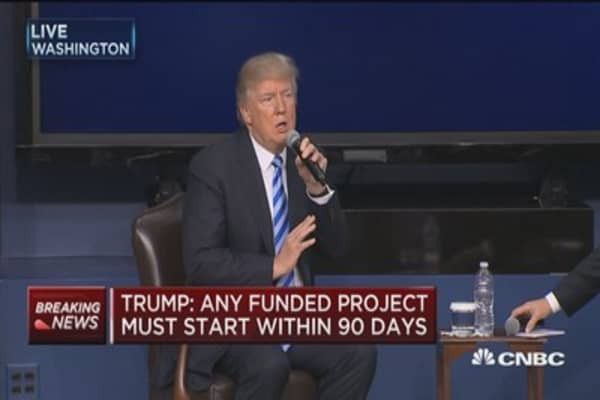 Trump: We are destroying 'horrible' regulations