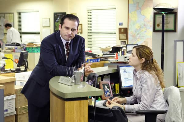 "Steve Carell as Michael Scott in ""The Office"" is known to be an incompetent manager."