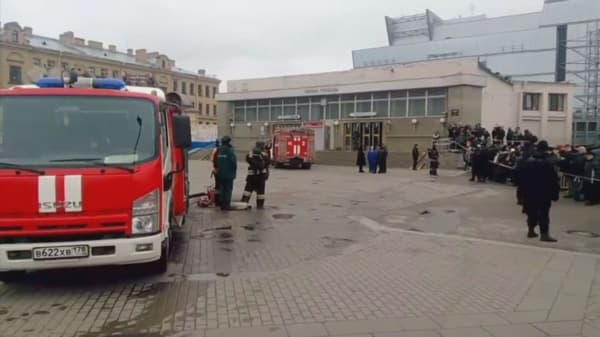 Reports name a suspect in the St. Petersburg subway bombing