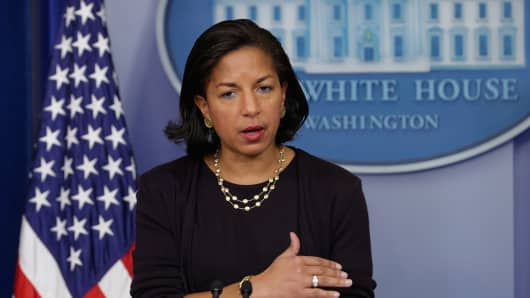 Susan Rice, former White House National Security Advisor.