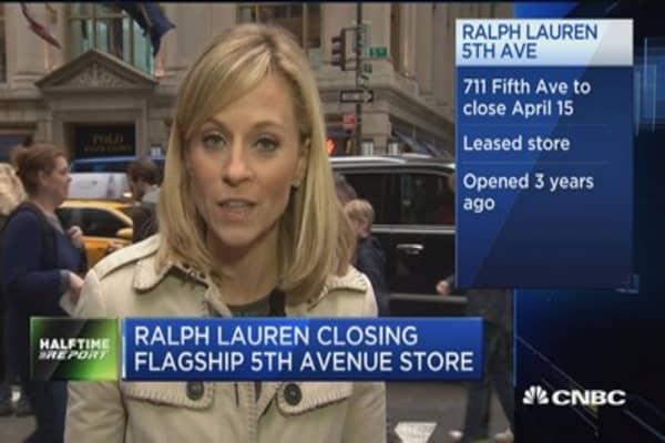 Ralph Lauren closing flagship 5th avenue store