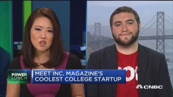 101: Inc. Magazine's coolest college startup