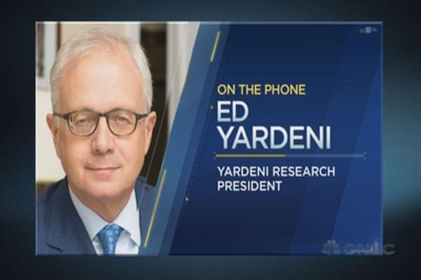 Ed Yardeni on interest rates, valuations and more