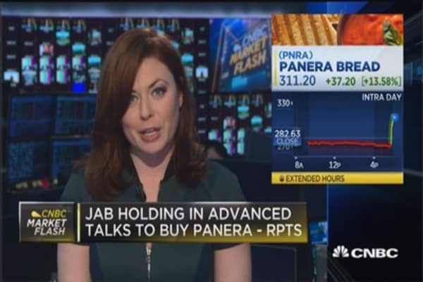 JAB Holding in advanced talks to buy Panera: Reports