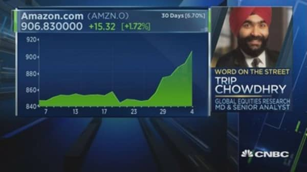 Without AWS, Amazon not even worth $100: Analyst
