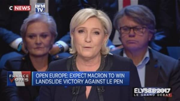 Open Europe: Le Pen's nationalism could cause conflicts in Europe