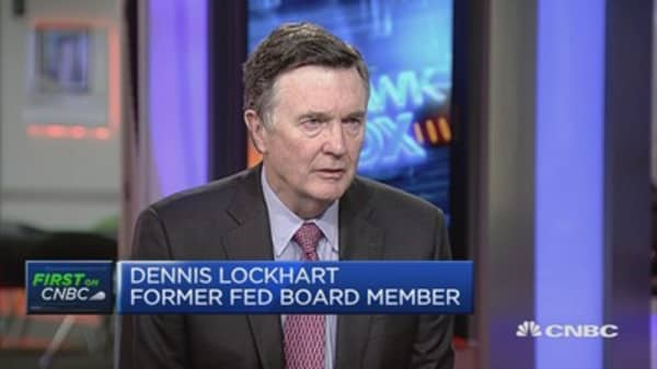 Lacker leak is a 'regrettable set of circumstances': Dennis Lockhart