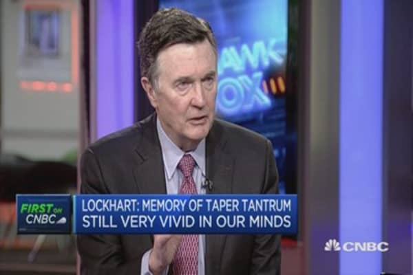 Lockhart: Expect continuation of moderate growth for US economy