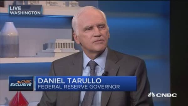Fed'sTarullo: Traction in the economy is taking hold