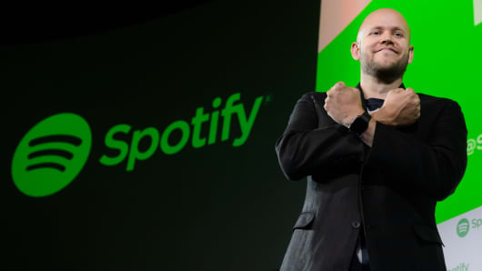 Image result for spotify goes public