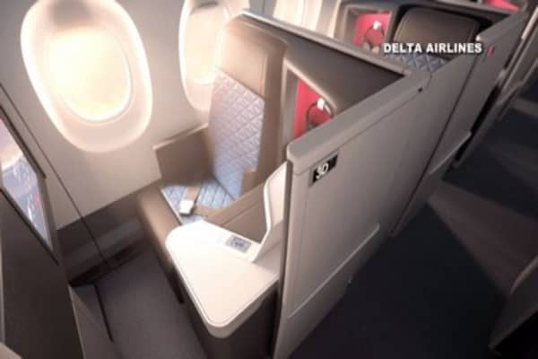 Delta and Airbus getting recognition for new designs