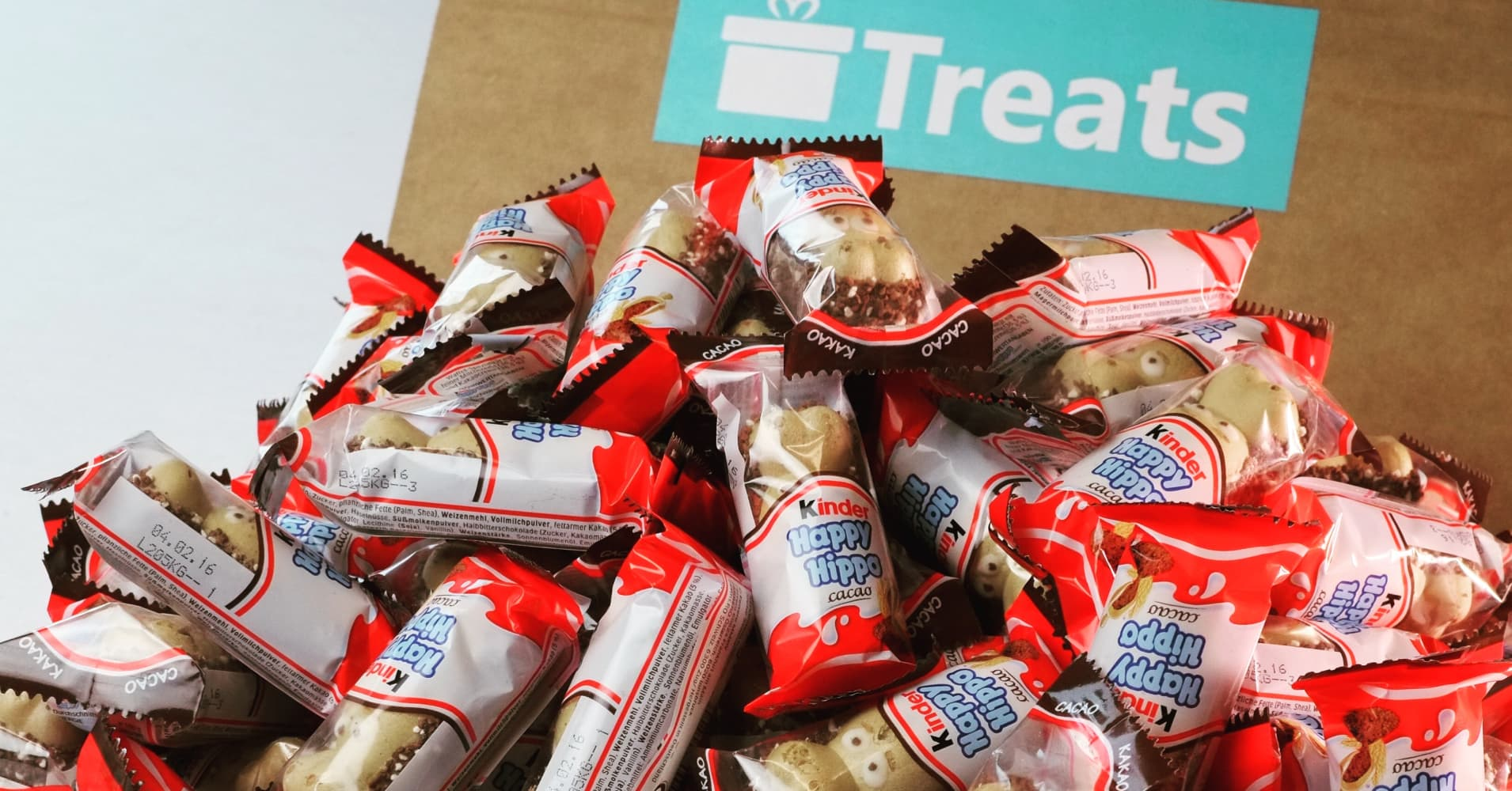 Treats is a subscription service for international snacks.