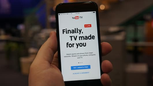 CNBC: YouTube TV 1