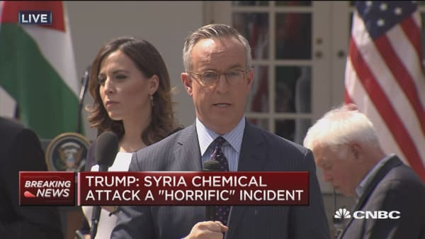 Trump hawkish on Syria?