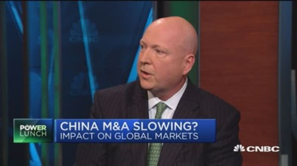 Is China M&A slowing?