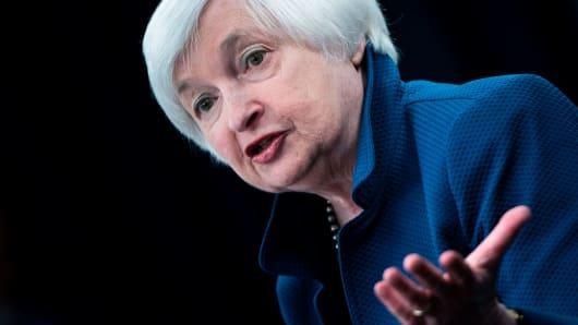 Federal Reserve Board Chairman Janet Yellen