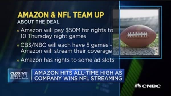 $50 million for NFL streaming is 'insignificant' to Amazon: Pro