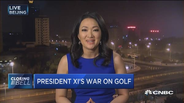 President Xi shuns golf as part of anti-corruption drive