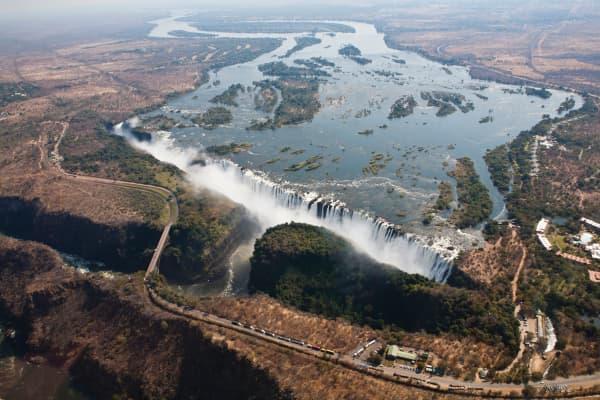 The Victoria Falls