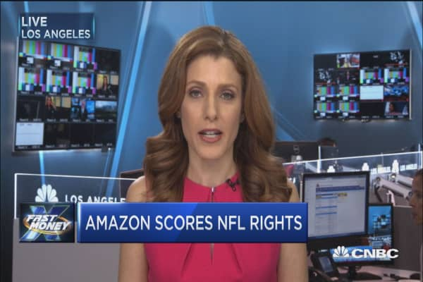 Amazon scores NFL rights