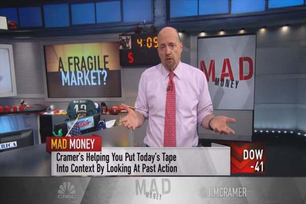 Cramer pinpoints three market-movers that should set off warning bells