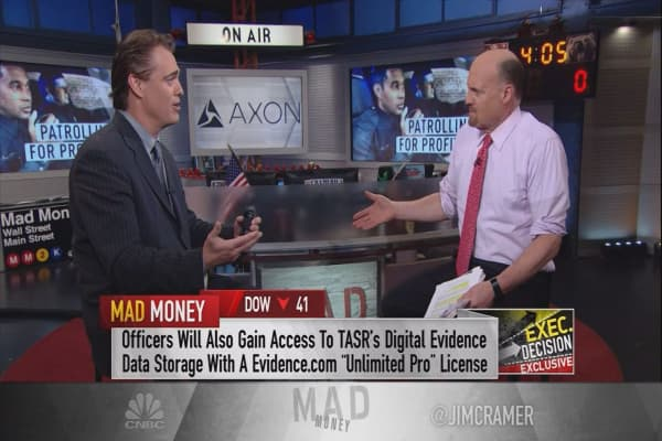Axon CEO: Free body cameras for all US police is ultimately 'a network play'