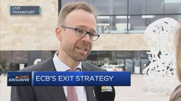 Goldman Sachs: Still too early for ECB to take risk of tapering