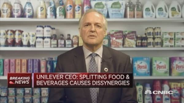 Unilever CEO: Currently assessing full value of spreads business