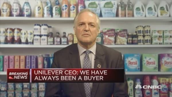 M&A is one of the reasons we've outgrown competitors: Unilever CEO