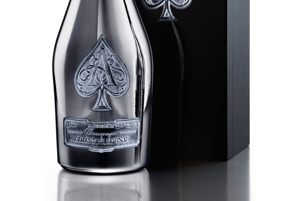 "Armand de Brignac ""A2"" champagne launched in April 2017. Jay Z bought the brand in 2014 for an undisclosed amount."
