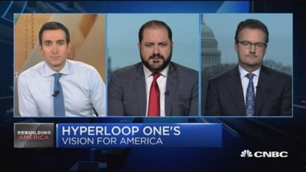 Hyperloop One unveils future of transportation